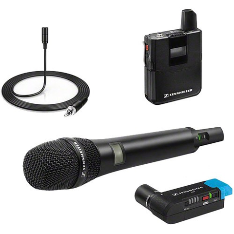 Sennheiser AVX-Combo SET Digital Camera-Mount Wireless Combo Microphone System (1.9 GHz)