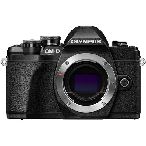 Olympus OM-D E-M10 Mark III Mirrorless Micro Four Thirds Digital Camera Body Only - Black by Olympus at B&C Camera