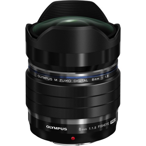 Olympus M.Zuiko Digital ED 8mm f/1.8 Fisheye PRO Lens - B&C Camera - 1