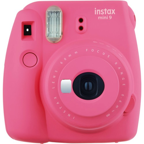 FUJI INSTAX MINI 9 PINK by Fujifilm at B&C Camera