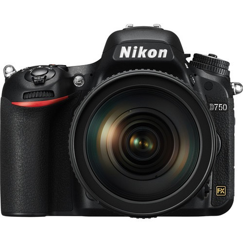Nikon D750 DSLR Camera with 24-120mm Lens by Nikon at bandccamera