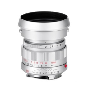 "Leica APO-Summicron-M 50 mm f/2 ASPH ""LHSA"" (Silver Chrome Finish) by Leica at bandccamera"