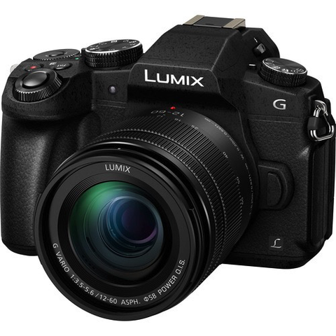 Panasonic Lumix DMC-G85 Mirrorless Micro Four Thirds Digital Camera with 12-60mm Lens