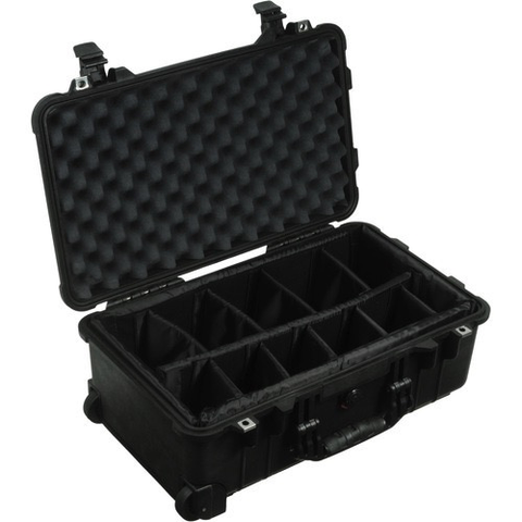 Pelican 1514 Case with Dividers (Black)