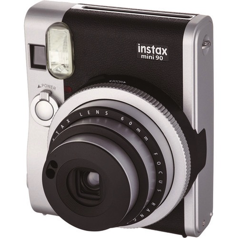 Fujifilm Instax Mini 90 Neo Classic Instant Camera - Black by Fujifilm at bandccamera