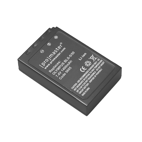 Promaster BLS-5/BLS-50 Lithium Ion Battery for Olympus - B&C Camera