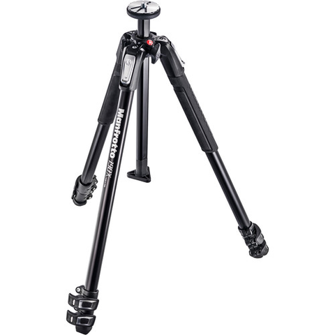 Manfrotto MT190X3 Aluminum Tripod by Manfrotto at B&C Camera