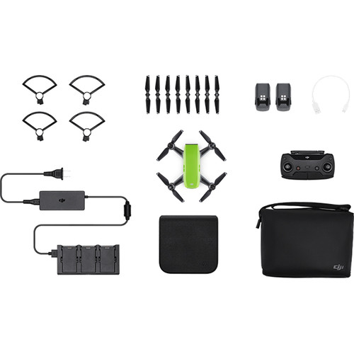 DJI Spark Fly More Combo (Meadow Green) by DJI at B&C Camera