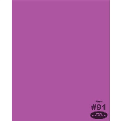 "Savage Widetone Seamless Background Paper (Plum 86""X12yds) by Savage at B&C Camera"