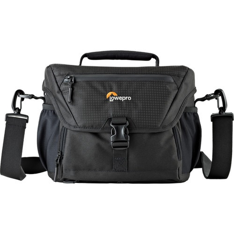 Lowepro Nova 180 AW II Camera Bag (Black) by Lowepro at bandccamera