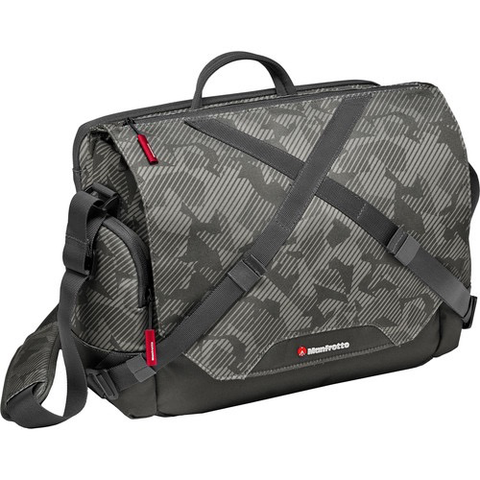 Manfrotto Noreg Camera Messenger-30 (Gray) by Manfrotto at B&C Camera