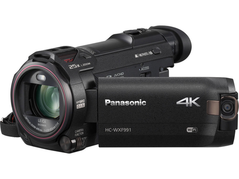 Panasonic HC-WXF991K 4K Ultra HD Camcorder by Panasonic at bandccamera