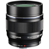 Olympus M.Zuiko Digital ED 75mm f/1.8 Lens (Black) by Olympus at B&C Camera