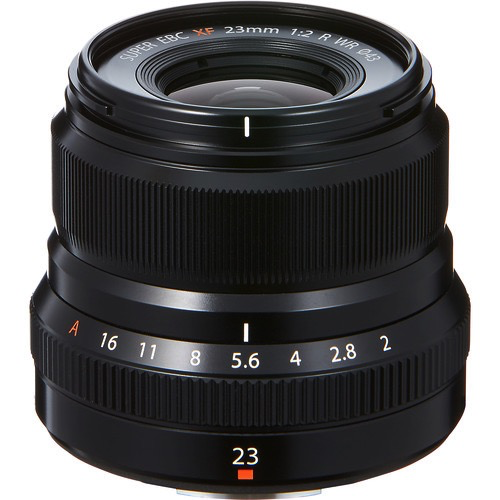 FUJINON XF 23MM F2 R WR BLACK by Fujifilm at bandccamera