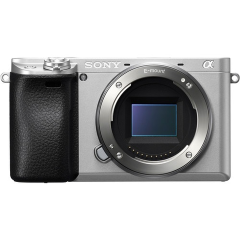 Sony Alpha a6300 Mirrorless Digital Camera Silver (Body Only) by Sony at bandccamera
