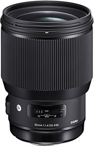 Sigma 85mm F1.4 DG HSM Art for NIKON by Sigma at B&C Camera