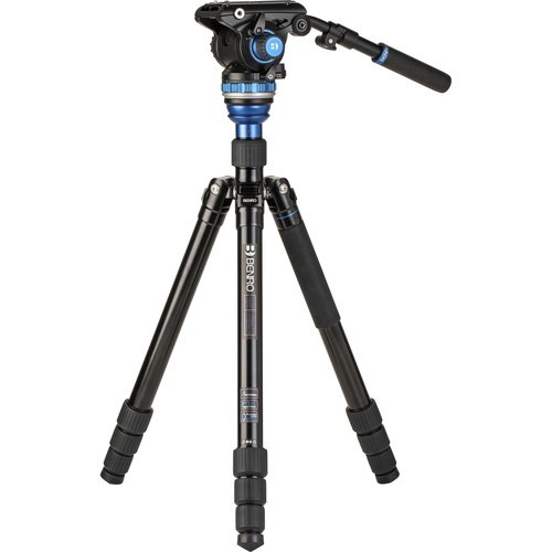 Benro A3883 Travel Angel Aero-Video Tripod Kit with Levelling Column and S6PRO Head