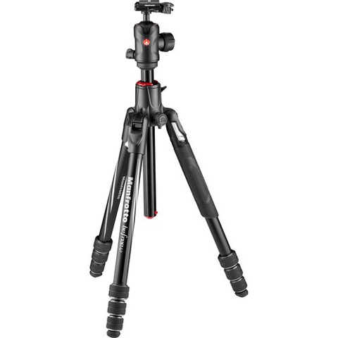 Manfrotto Befree GT XPRO Aluminum Travel Tripod with 496 Center Ball Head by Manfrotto at B&C Camera