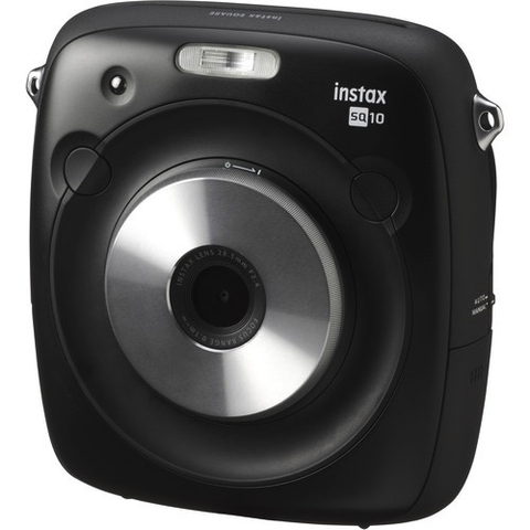 Fujifilm instax SQUARE SQ10 Hybrid Instant Camera by Fujifilm at bandccamera