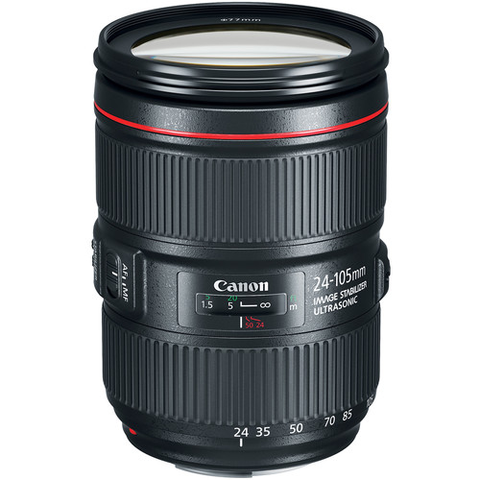 Canon EF 24-105 f/4L IS II USM by Canon at B&C Camera
