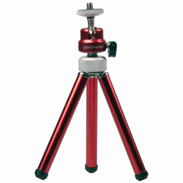 Promaster TRM-1 Mini Tripod (Red) - B&C Camera
