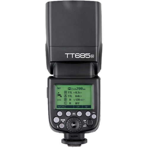 Godox TT685N Thinklite TTL Flash for Nikon Cameras