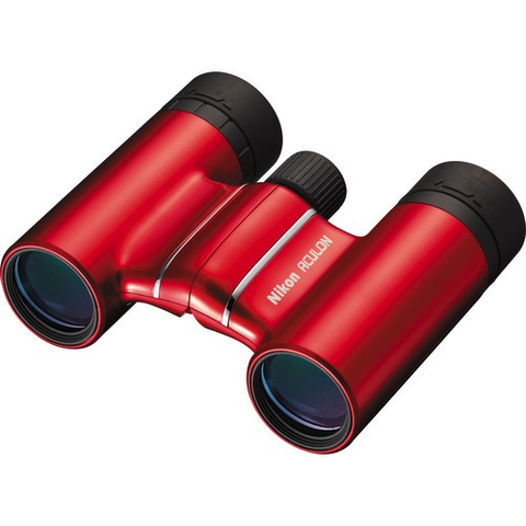 Nikon 8x21 Aculon T01 Binocular (Red) by Nikon at bandccamera