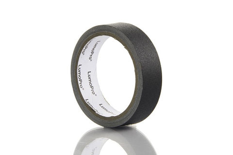 "LUMOPRO 1"" X 8 YD GAFFER TAPE - BLACK by Lumopro at B&C Camera"