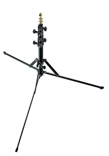 Manfrotto Nano Black Light Stand - 6.2ft. by Manfrotto at bandccamera