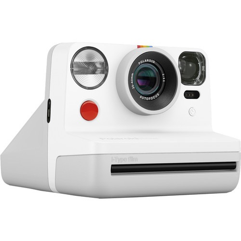 Polaroid Now Instant Film Camera (White)
