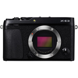 Fujifilm X-E3 Mirrorless Digital Camera (Body Only, Black) by Fujifilm at bandccamera