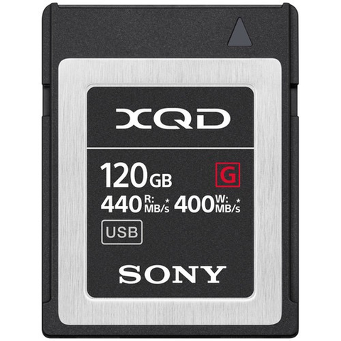 Sony 120GB G Series XQD Memory Card by Sony at bandccamera