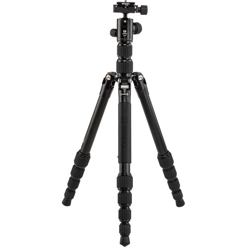 Benro Tripster Travel Tripod (0 Series, Black, Aluminum) by Benro at bandccamera