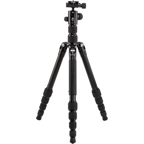 Benro Tripster Travel Tripod (0 Series, Black, Aluminum) by Benro at B&C Camera