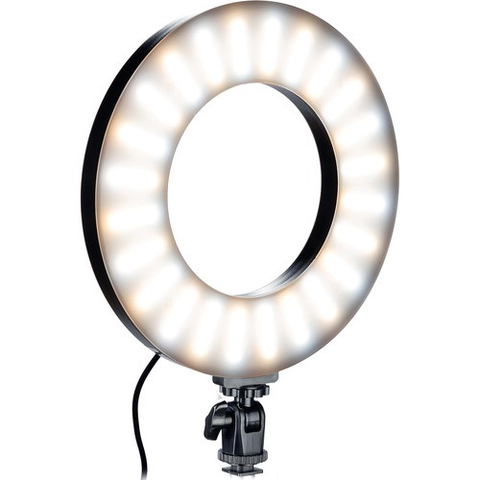 "Smith-Victor RL-LED20 Bi-Color LED Ring Light (9"") by Smith-Victor at B&C Camera"