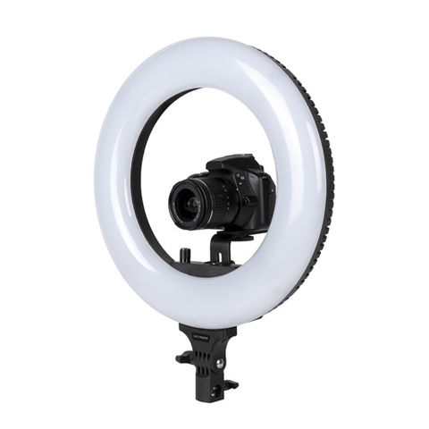 "Promaster Basis BR130D 14"" LED Ringlight - Daylight by Promaster at bandccamera"