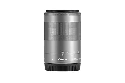 Canon EF-M 55-200mm f/4.5-6.3 IS STM (Silver) - B&C Camera