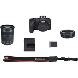 Canon EOS RP Mirrorless Digital Camera with EF 24-105mm Lens and Mount Adapter EF-EOS R Kit by Canon at B&C Camera