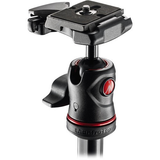 Manfrotto BeFree Compact Travel Aluminum Alloy Tripod (Red) - B&C Camera - 3