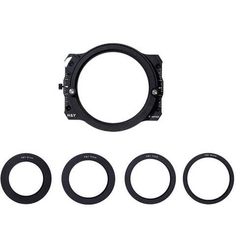 H&Y Square Filter Holder with adapter rings by Promaster at B&C Camera