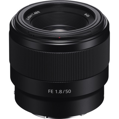 Sony FE 50mm f/1.8 Lens - B&C Camera - 1