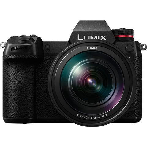 Panasonic Lumix DC-S1 Mirrorless Digital Camera with 24-105mm Lens by Panasonic at B&C Camera