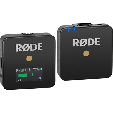 Rode Wireless GO Compact Digital Wireless Microphone System (2.4GHz, Black)