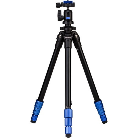 Benro TSL08AN00 Slim Aluminum-Alloy Tripod with Ball Head by Benro at B&C Camera
