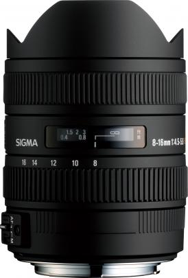 Sigma 8-16mm F4.5-5.6 DC Lens for Nikon by Sigma at bandccamera