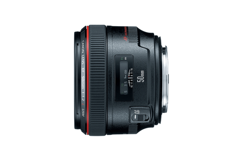 Canon EF 50mm f/1.2L USM by Canon at B&C Camera