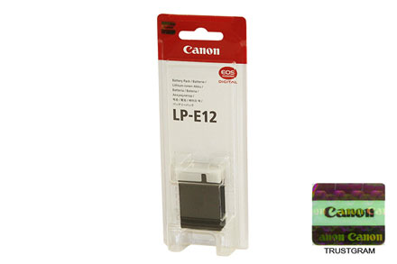 Canon Battery Pack LP-E12 by Canon at bandccamera