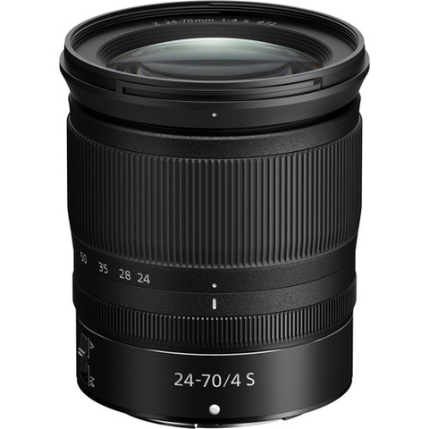 Nikon NIKKOR Z 24-70mm f/4 S Lens by Nikon at B&C Camera