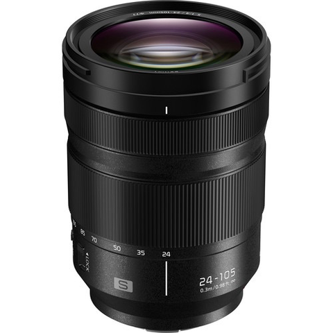 Panasonic Lumix S 24-105mm f/4 Macro O.I.S. Lens by Panasonic at bandccamera