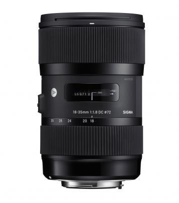 Sigma 18-35mm F1.8 DC HSM Art Lens for Canon
